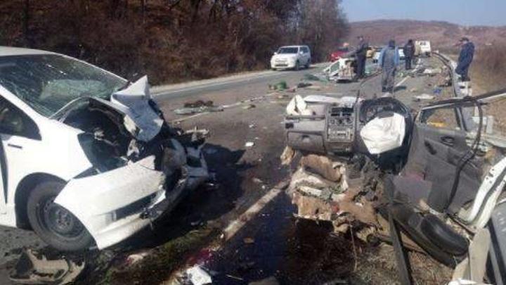 Разорвало автомобиль на кусочки: в Приморье произошло жесткое ДТП