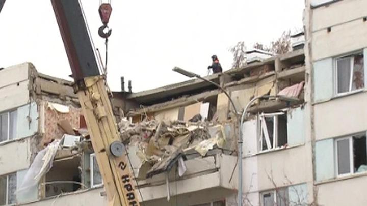 Жильцов взорвавшейся пятиэтажки в Набережных Челнах пустили домой за вещами