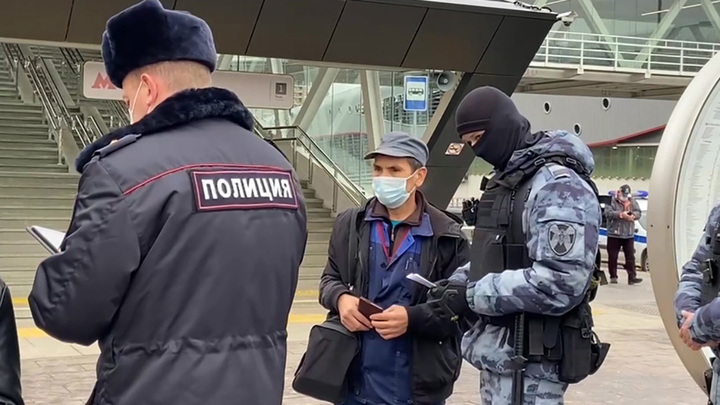 Полиция навела порядок в Новой Москве среди нелегальных мигрантов