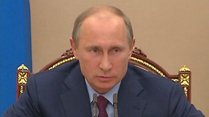 """Путин попросил генпрокурора проверить РАН """"без резких движений"""""""