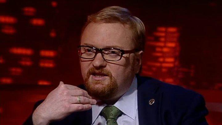 """Милонов обвиняет """"лесоруба Навального"""" в клевете"""