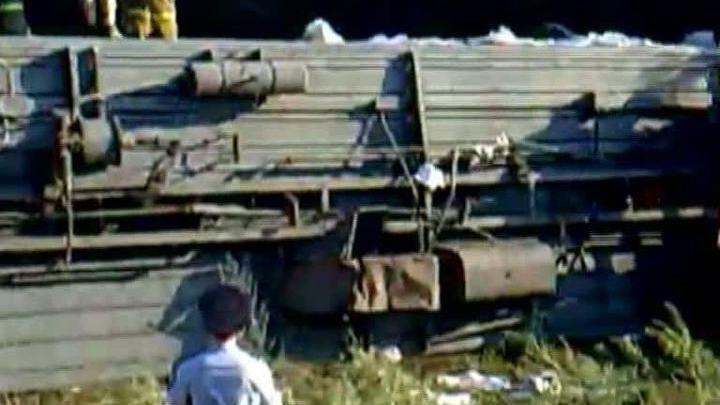 """Пассажир поезда """"Новосибирск - Адлер"""" рассказал о ЧП на Кубани"""