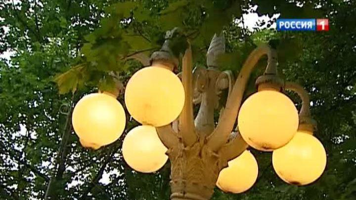В Москве собрали коллекцию старинных уличных фонарей