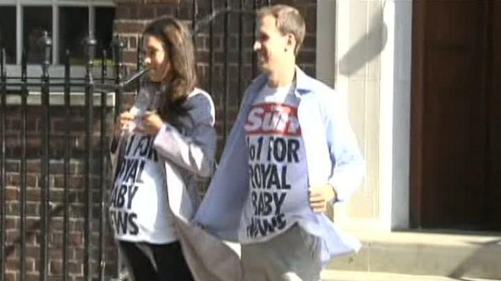 Двойники принца Уильяма и Кейт Миддлтон разыграли журналистов