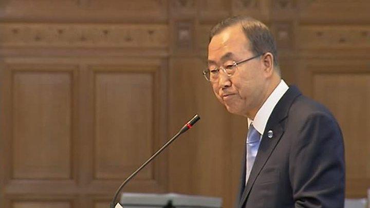 Пан Ги Мун: мы дошли до критического момента в сирийском конфликте