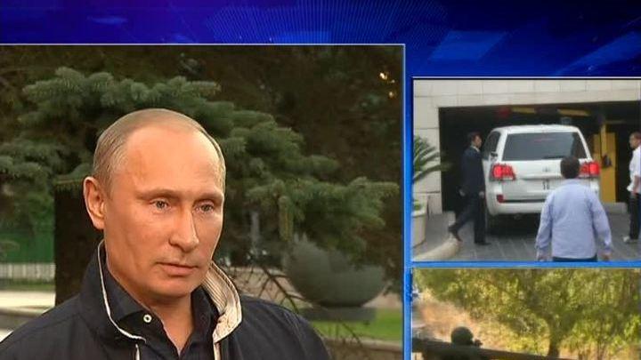 Путин просит Обаму подумать о будущих жертвах войны в Сирии