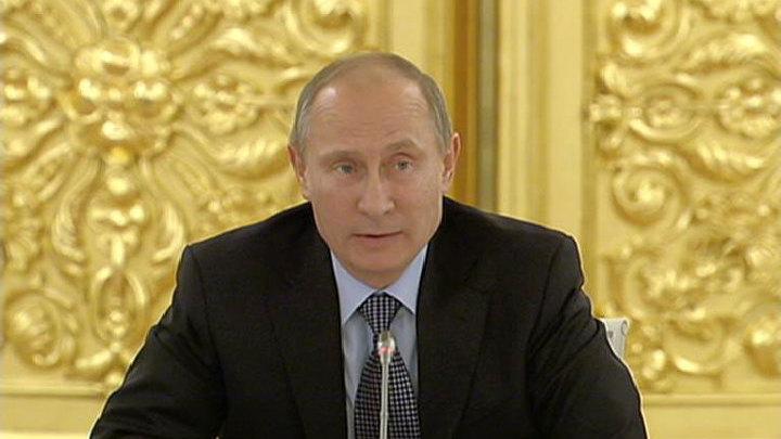 Путин вручил в Кремле государственные награды