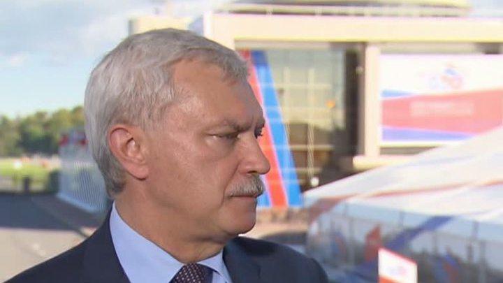 Полтавченко ушел в отставку для участия в петербургских выборах