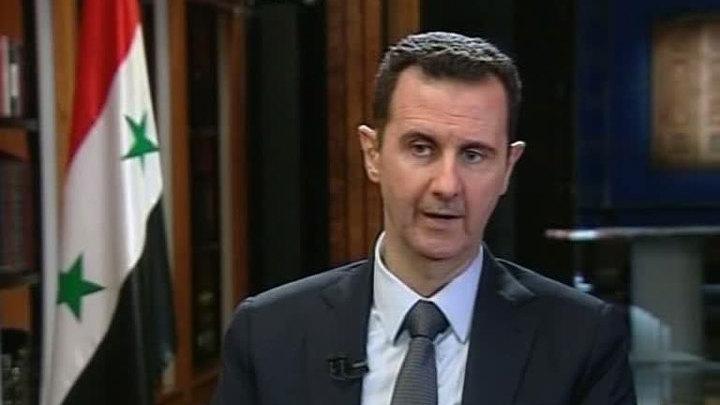 Башар Асад о химоружии, США и будущем Сирии