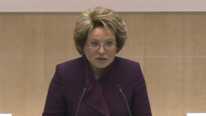 """Матвиенко предлагает вернуть в бюллетени графу """"против всех"""""""