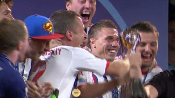 Сборная России выиграла чемпионат мира по пляжному футболу