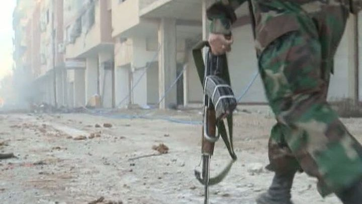 Боевики захватили сирийский город, устроив там резню