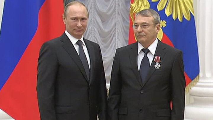 Почетные звания и высокие награды из рук президента