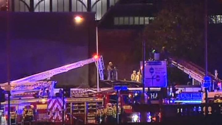 Вертолет, упавший на крышу паба в Глазго, был полицейским