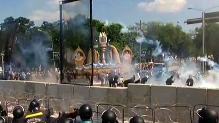 Демонстранты устроили штаб в захваченном здании тайского минфина