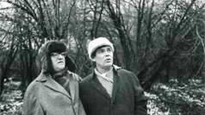 Александр Ведерников и Георгий Свиридов на прогулке