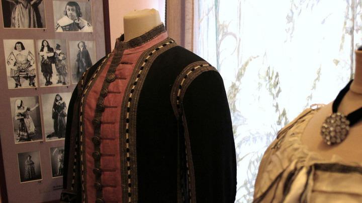 Подлинный костюм художника А.Головина к «Дон Жуану», Александринский театр.