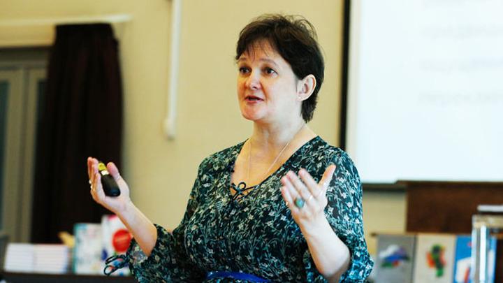 Журналист, педагог Ирина Лукьянова.
