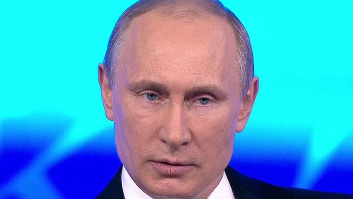 Прямая линия с Владимиром Путиным. Часть 1