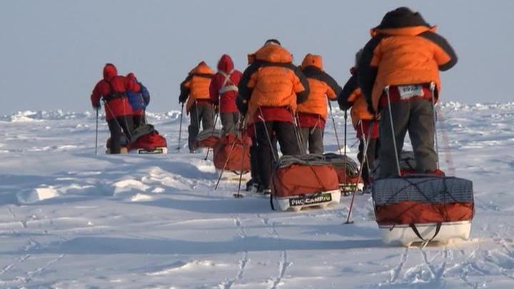 """""""Большое арктическое путешествие"""". Специальный репортаж Артема Кола"""