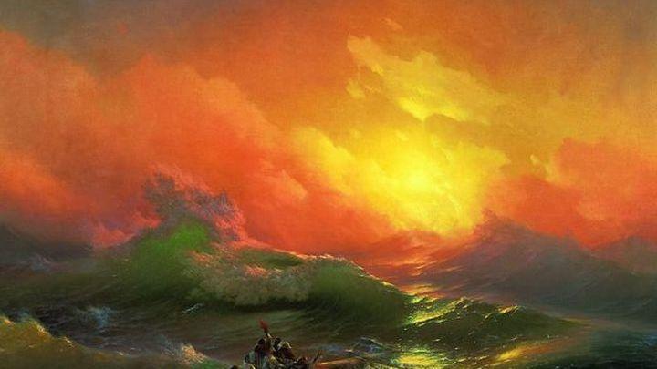 Двести картин Айвазовского и части настоящих кораблей представлены в Русском музее