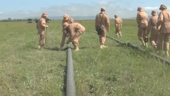 Военные помогают спасать Крым от засухи