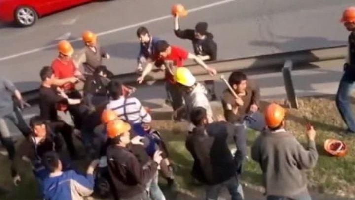 """Драка на молотках у """"Москвы-Сити"""": задержаны 450 мигрантов"""