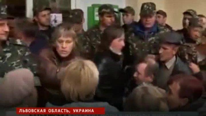 По западу Украины прокатилась волна антивоенных бунтов