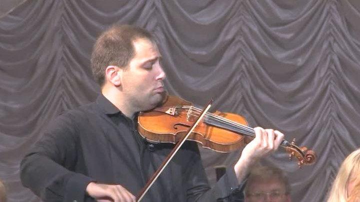 Скрипичный концерт памяти погибших журналистов