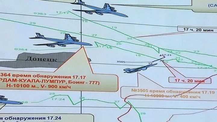 Минобороны: Boeing пытался вернуться в коридор, но не успел