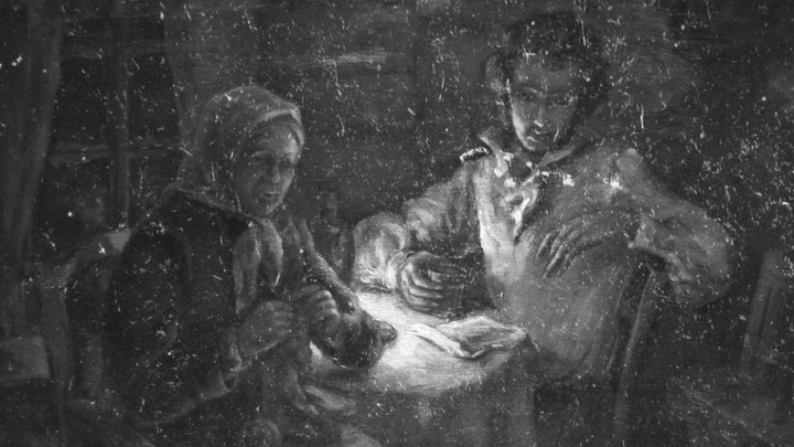 Профилактика. Арина Родионовна и Александр Пушкин