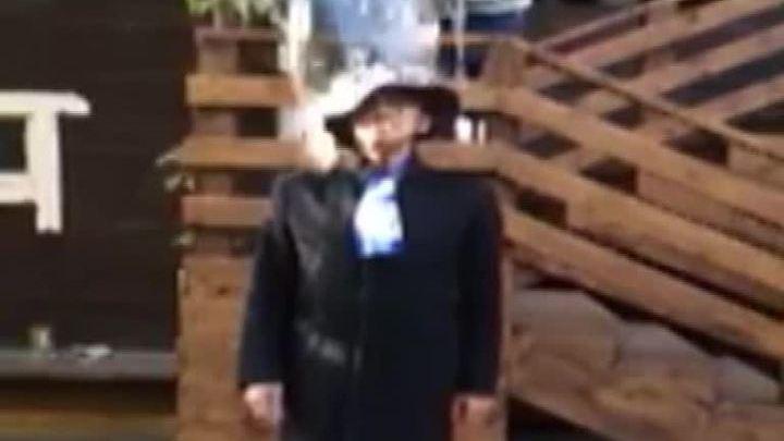 Боярский облился в шляпе