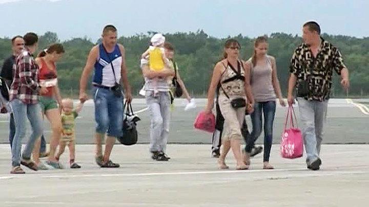 Сахалин радушно встречает беженцев с Украины