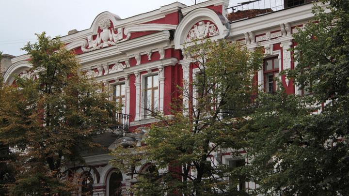 Воронеж, прежняя Большая Московская в сентябре 2014 года.