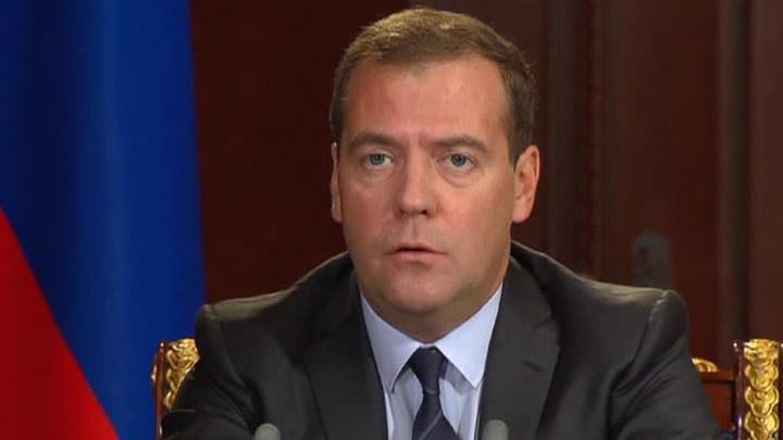 Медведев поздравил худрука хора имени Пятницкого с юбилеем