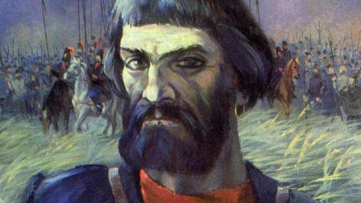 Емельян Иванович Пугачёв. Художник Леонид Корнилов