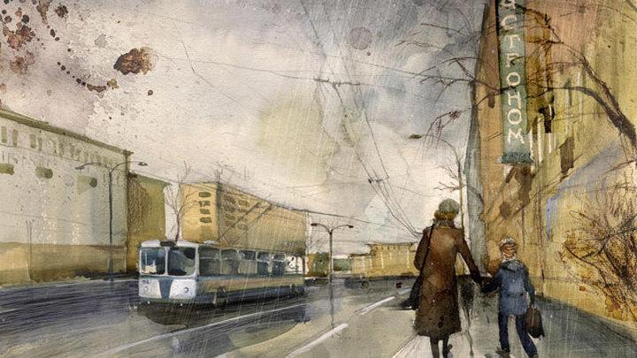Картина Вероники Калачевой