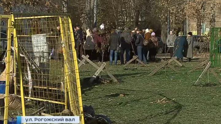 Жители Таганки вышли на борьбу за сквер