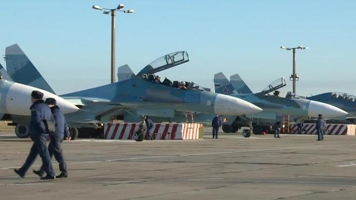 Россия перебросила в Крым 14 современных истребителей