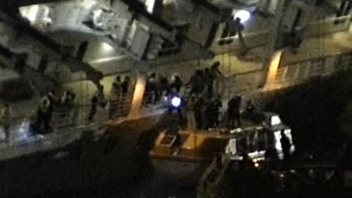 Капитан Costa Concordia дал первые показания