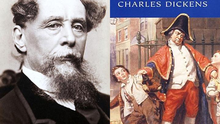 """Британский писатель Чарльз Диккенс (Charles Dickens) и его повесть """"Приключения Оливера Твиста"""" (""""The Adventures of Oliver Twist"""")."""