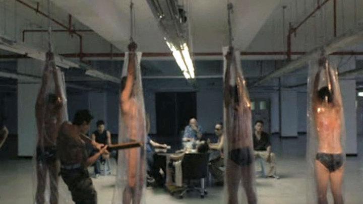 Сексуальная жестокость в камере пыток видео