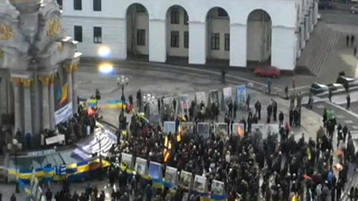 Украинские военные требуют отставки Порошенко