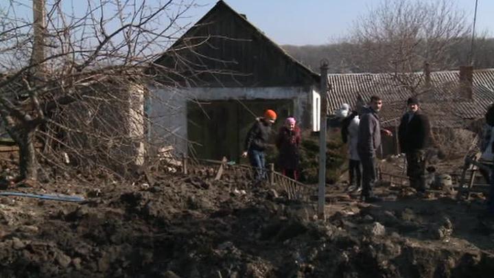 ДНР: силовики пытаются прорвать окружение под Дебальцево