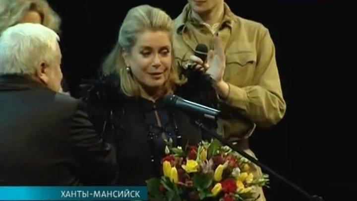 """Катрин Денёв: """"Сибирь - это всегда что-то таинственное"""""""