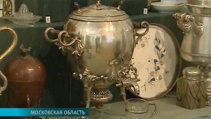 Об истории самоваров рассказывает выставка в Архангельском