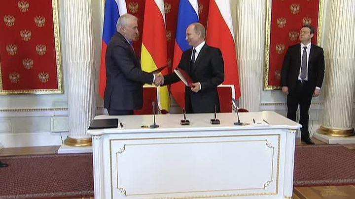 Путин пообещал Тибилову миллиард рублей