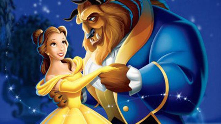 "Кадр из анимационной ленты 1991 года ""Beauty And The Beast"" (""Красавица и Чудовище"")."