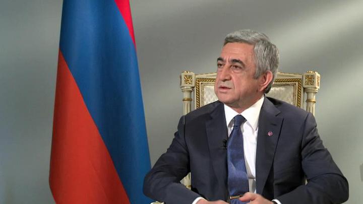 """""""Мнение"""": Серж Саргсян о российско-армянских отношениях"""