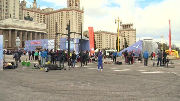 Седьмой фестиваль студенческого спорта стартовал в Москве